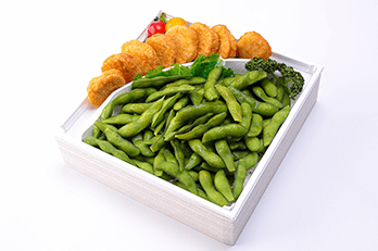 枝豆&チキンナゲット